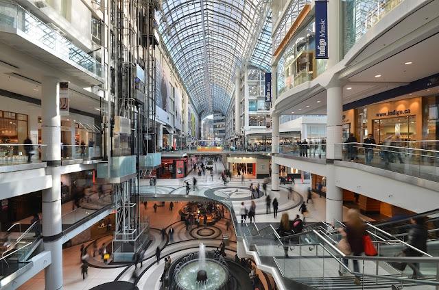 Eaton Centre em Toronto