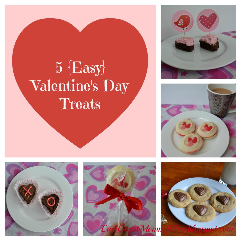 5 easy valentines day treats - Easy Valentines Treats