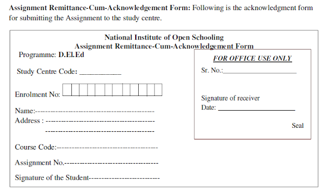 nios deled remittance form