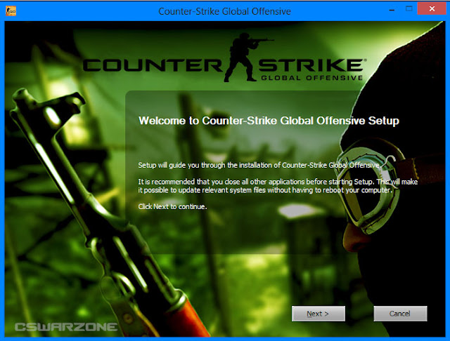 Install Counter Strike Global Offensive