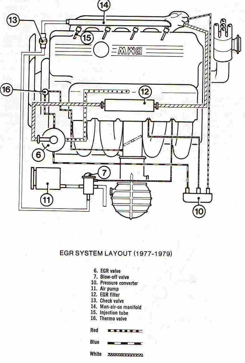 egr valve wiring diagram