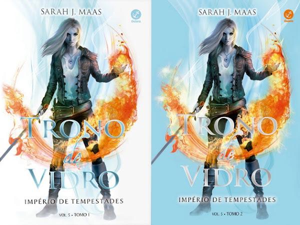 Resenha #404 - Trono de Vidro - Império de Tempestade I e II - Sarah J Maas - Galera Record