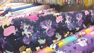 MLP The Movie Seapony Fabric