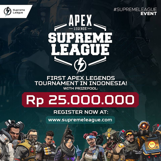 Turnamen Apex Legends Pertama di Indonesia!