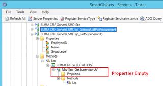 No Return Properties In K2 SmartObject Method List