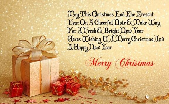 Merry Christmas Messages Greeting for Friends