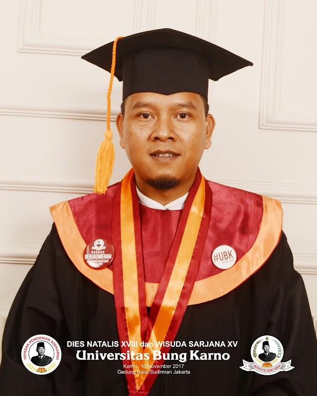 Wisuda Universitas Bung Karno 2017
