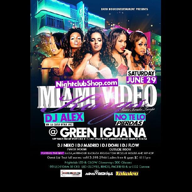 Nightclubshop com and MiamiVideoKings DJ/VJ Alex K  Visit