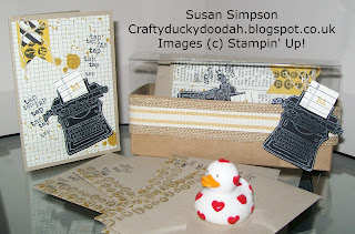 Stampin' Up! Made by Susan Simpson Independent Stampin' Up! Demonstrator, Craftyduckydoodah!, Tap Tap Tap, Gorgeous Grunge,