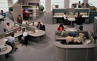 Tata Ruang Kantor Terbuka (Open Plan Offices)