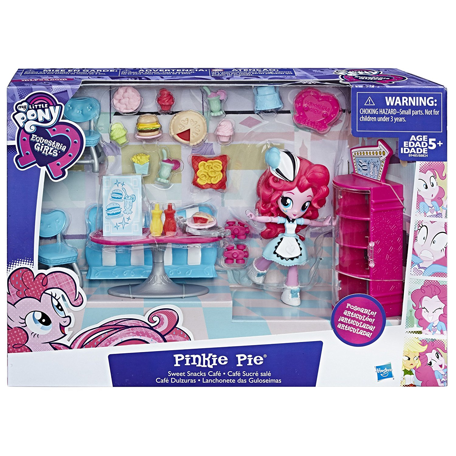 4 New Equestria Girls Minis Mall Collection Sets Listed : MLP Merch