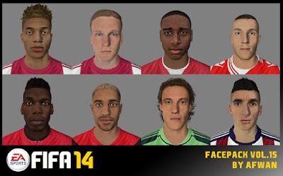 FIFA 14 Facepack Vol. 15 by Afwan