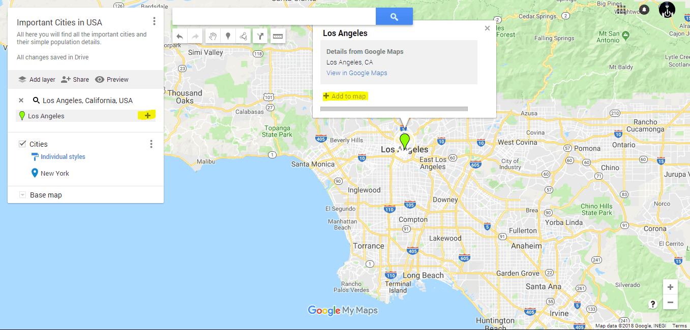How to drop a pin on google maps free Drop Multiple Pins On Google Maps on