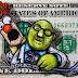 Mira cómo hace estos dibujos en los billetes de dólar