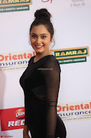 Vennela in Transparent Black Skin Tight Backless Stunning Dress at Mirchi Music Awards South 2017 ~  Exclusive Celebrities Galleries 004.JPG