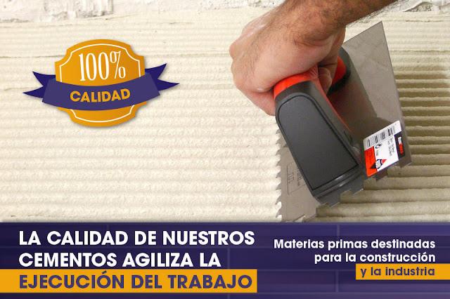 Áridos y cementos en Zaragoza
