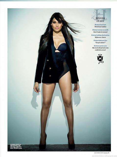 Bipasa Basu Hot Photoshoot For Maxim In Lingerie  Actress -4706