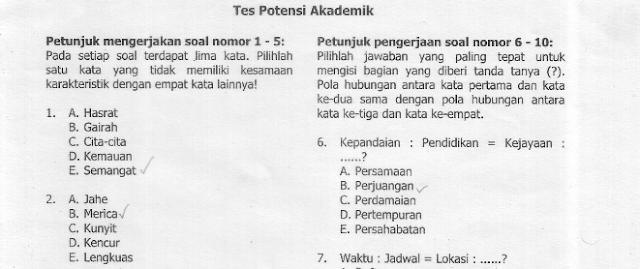 Download Pdf Tes Potensi Akademik Uhamka Soal Tes Masuk Uhamka Kumpulan Soal Dan Pembahasan Un Uambn Uasbn Unbk