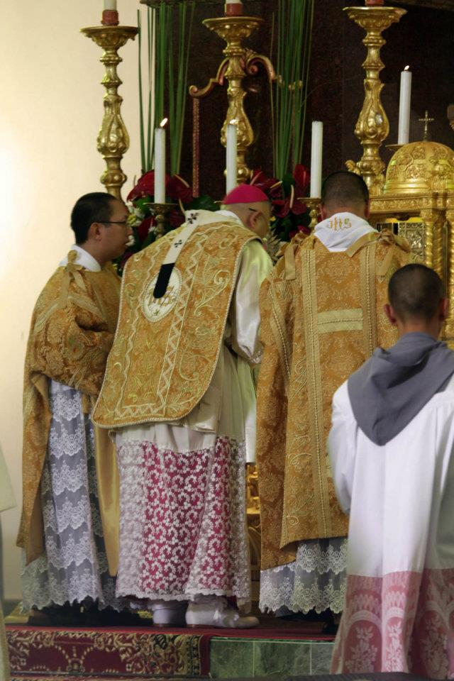 New Liturgical Movement: President of Filipino Catholic