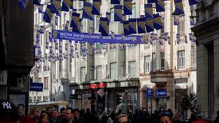 Annual celebration in Sarajevo streets