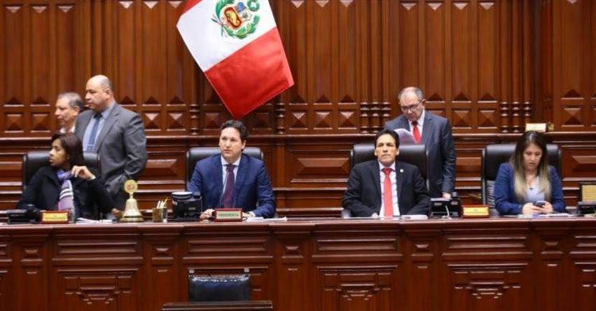 Congreso de la República verá hoy moción de censura contra Salaverry y Mesa Directiva