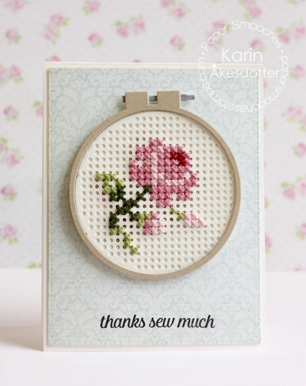 Paper Smooches Stitched Circle에 대한 이미지 검색결과