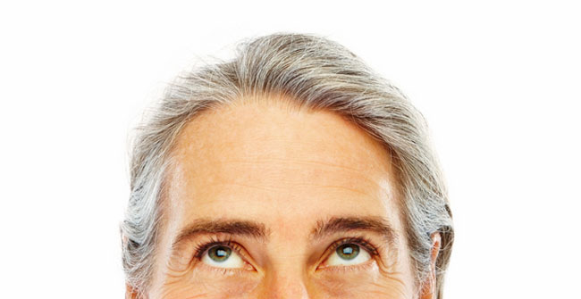 Hair Turning Gray? It's Totally Your Own Doing
