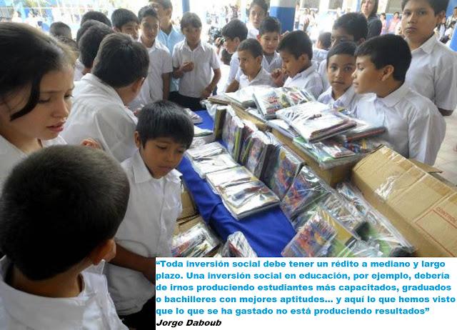 Fracaso de los programas sociales del FMLN