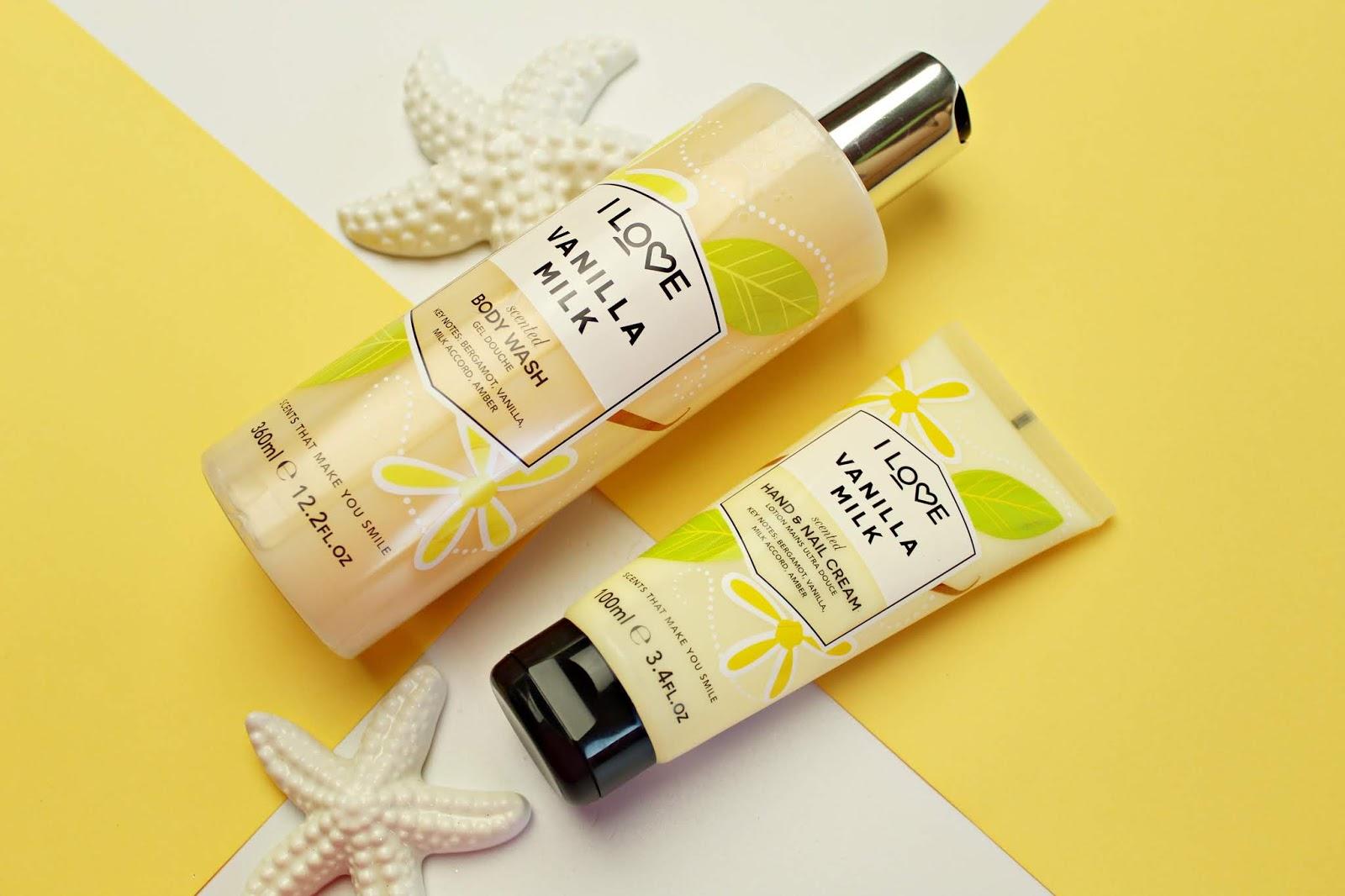 I LOVE COSMETICS - Vanilla Milk - żel pod prysznic i krem do rąk