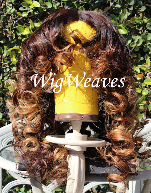 Custom Full Frontal Lace Front Wig
