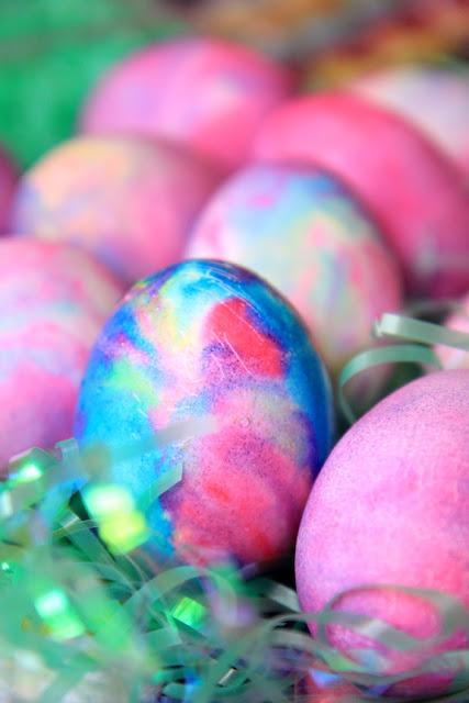 Galaxy Easter Eggs - Photo by Mademoiselle Mermaid