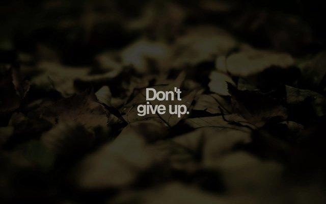 Đừng từ bỏ