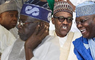 2019: The Gang Up Against Tinubu THICKENS As Buhari's Men, Saraki, Atiku, Fashola, Others Reunite, In Plots To Tame Jagaban
