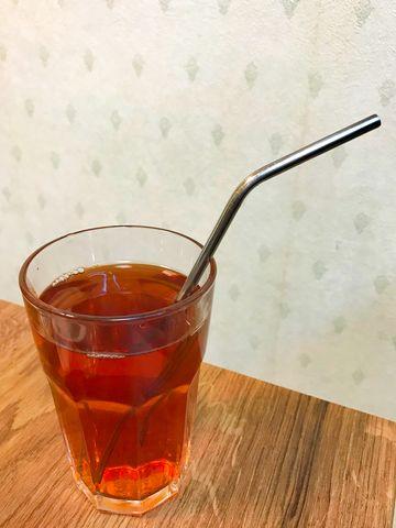 紅茶用環保鐵吸管