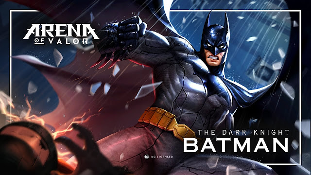 Batman AOV Build, Skill, Talent Yang Cocok, Hingga Tips - Tips Menggunakannya