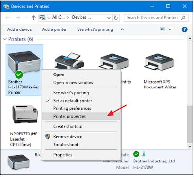 Cara Share Printer Yang Terhubung ke PC Jaringan Tanpa Menggunakan Homegroup