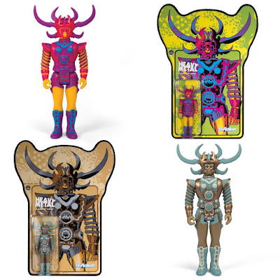 Jack Kirby's Lord of Light Standard & Metallic Edition ReAction Figures by Super7 x Heavy Metal