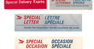Postal History Corner: Faster Than Regular Mail : 1967 - 1993