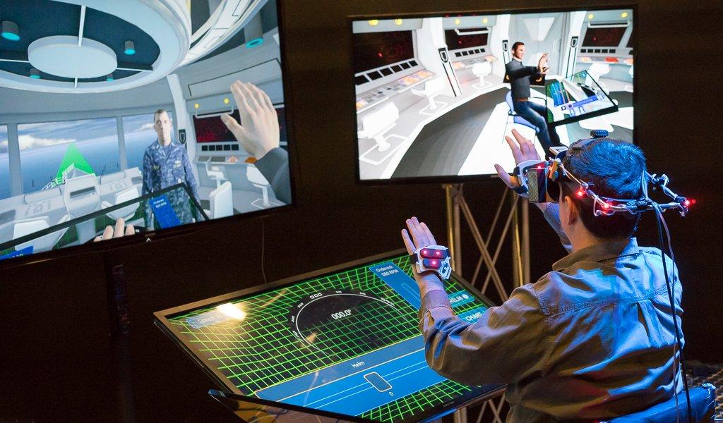 Virtualizing your life: Entrenamiento militar a trav\u00e9s de la realidad virtual