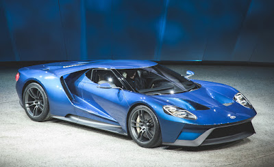 The Ford GT Wins Top North American Concept Vehicle Award