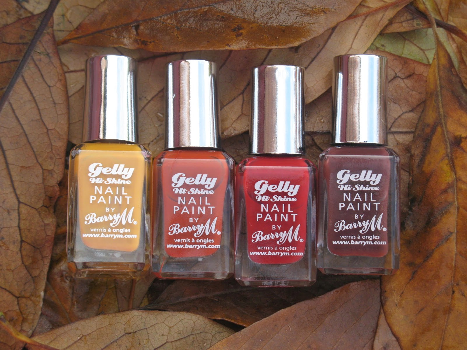 Barry M Gelly Nail Paint Autumn Fall
