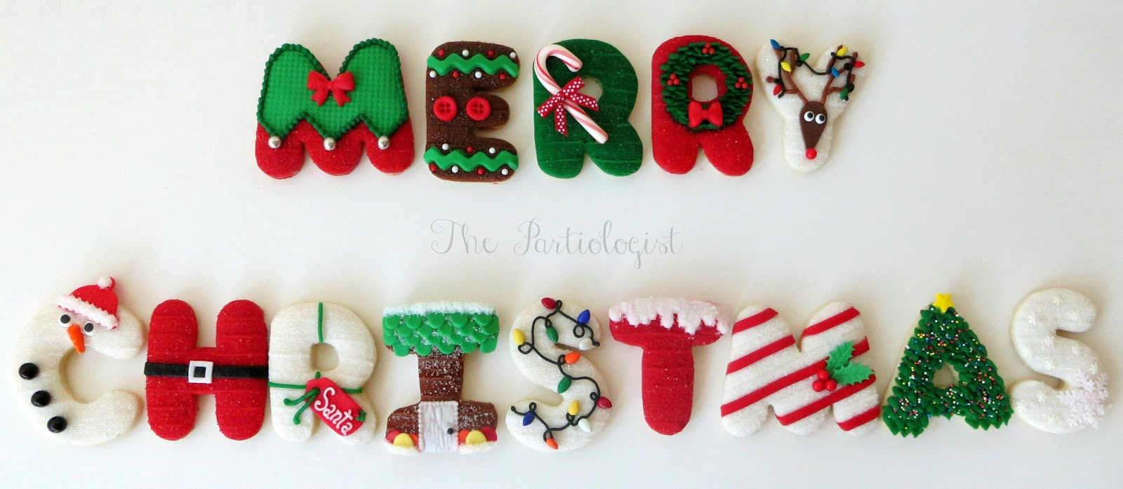The Partiologist Christmas Cookies