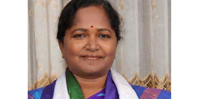 MLA Uppuleti Kalpana Dances to Katamarayudu Song