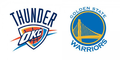 NBA : Durant, Westbrook Take Center Stage as Warriors Host Thunder