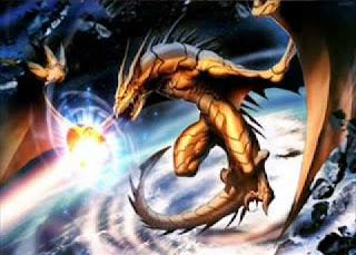 Sci-fi Dragon