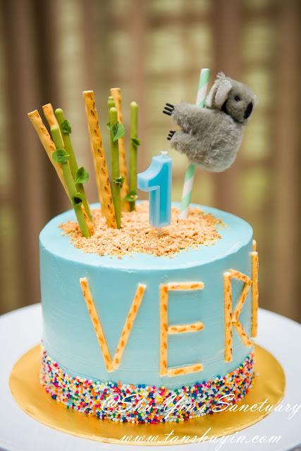 Fine Shu Yins Sanctuary Verns Koala 1St Birthday Cake Funny Birthday Cards Online Hetedamsfinfo