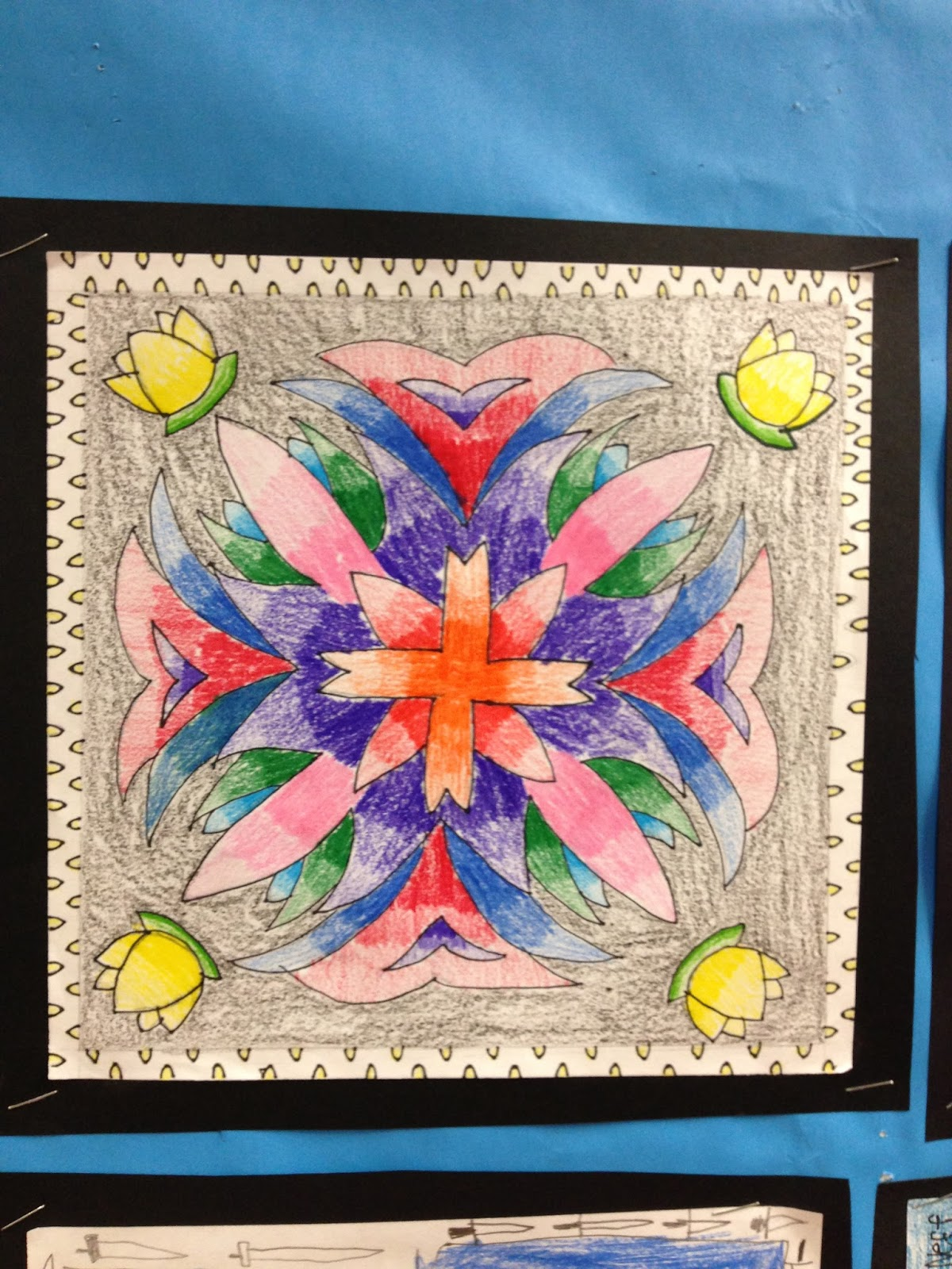 Teaching 4th With Style Rotational Symmetry Art