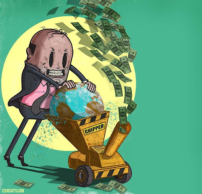 Artwork by Steve Cutts