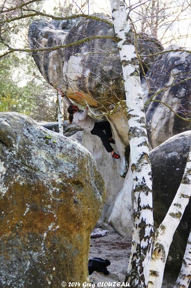 Toit du Cul de chien, 6c+, Trois Pignons, (C) 2014 Greg Clouzeau