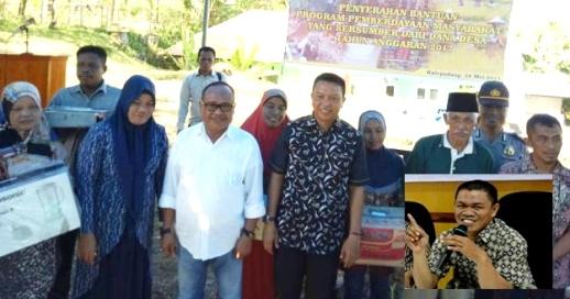 Warga Desa Kalepadang, Terima Bantuan, Pemberdayaan Masyarakat